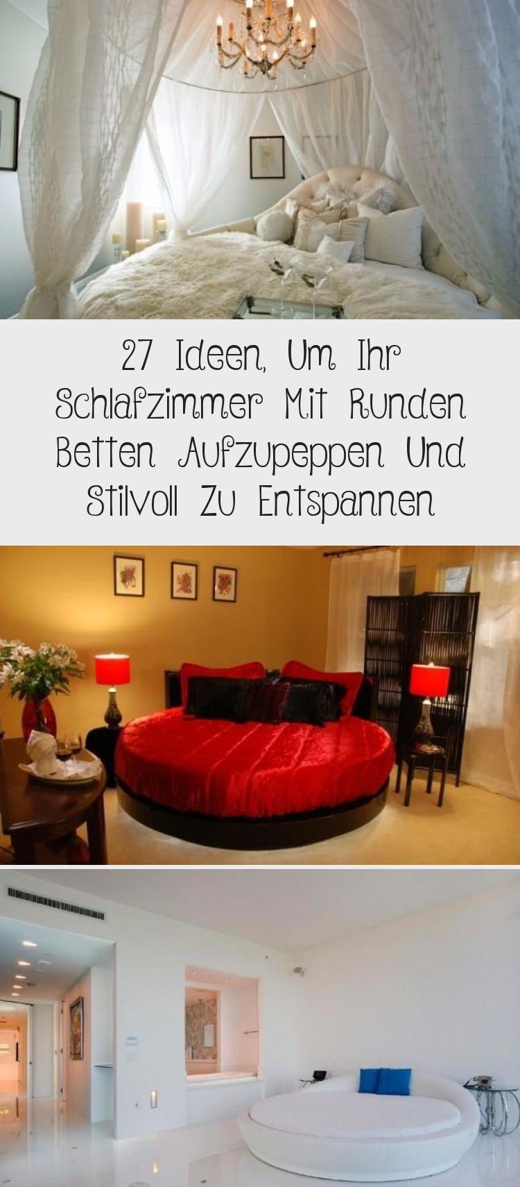27 Ideen Um Ihr Schlafzimmer Mit Runden Betten Aufzupeppen