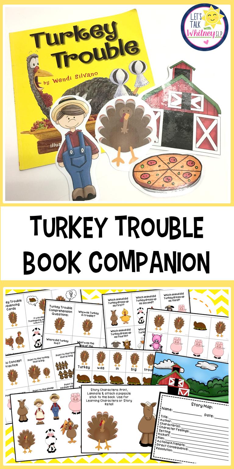 Turkey Trouble Book Companion Turkey trouble