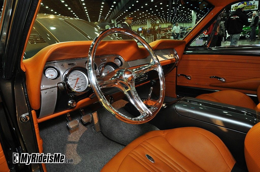 67 mustang fastback gt500 grey with camel interior custom - 2013 mustang interior accessories ...
