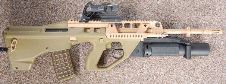 Modern Firearms - Thales EF88 / F90 assault rifle (Australia) | Guns