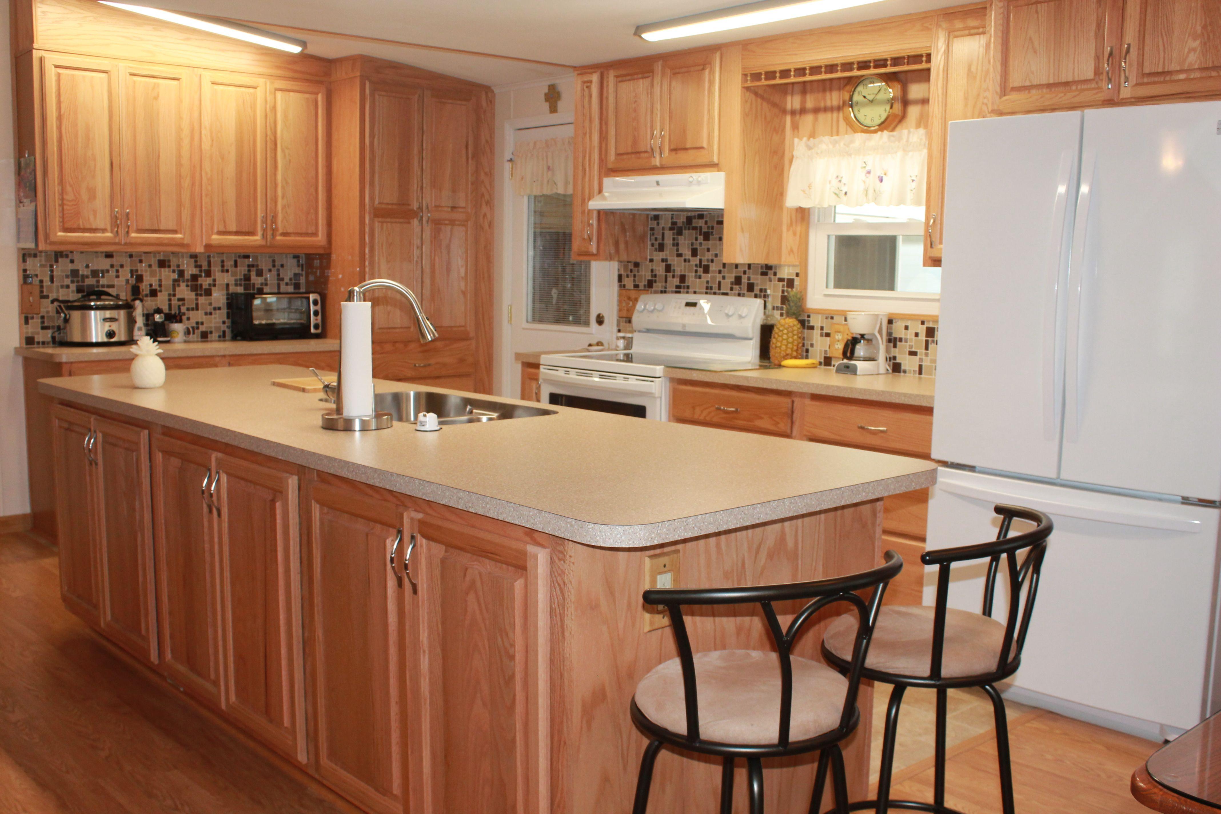 Concord Harvest Raised Panel Birch Cabinets Beautiful Kitchens Birch Cabinets Kitchen Remodel