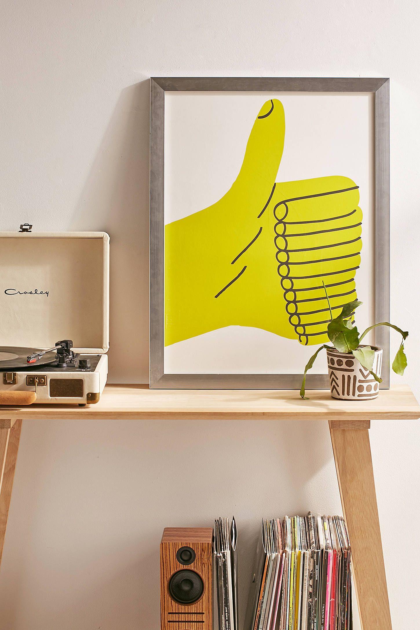 Marcus Oakley Thumb Up Art Print | Oakley, Prints and Art prints