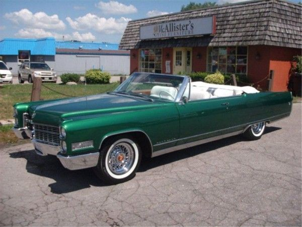 Convertible Cadillacs For Sale 1966 Cadillac Eldorado Convertible