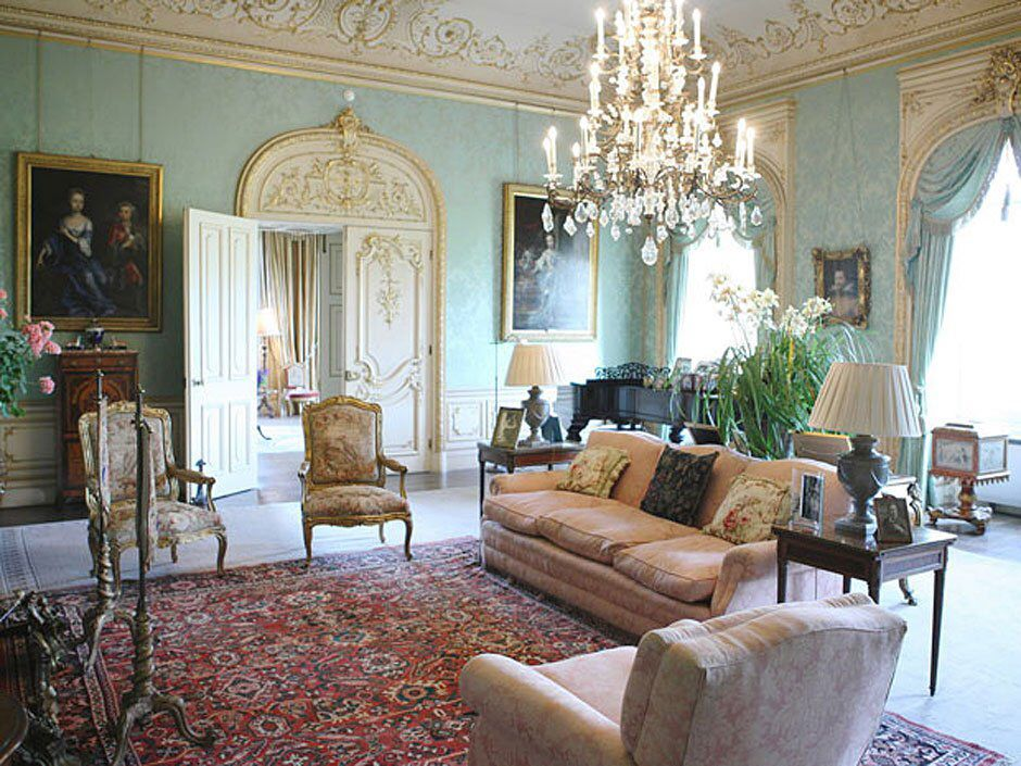 Castle Interior Design Set the drawing a room at highclere castle | highclere castle: the