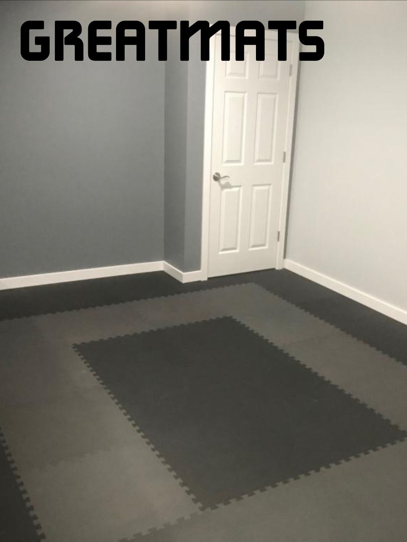 Foam Mats Economy 1 2 Inch Home Gym Flooring Flooring Building A Home Gym