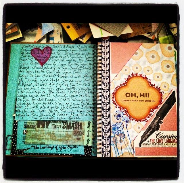Smash Book Ideas | Smash Books/ IDEAS