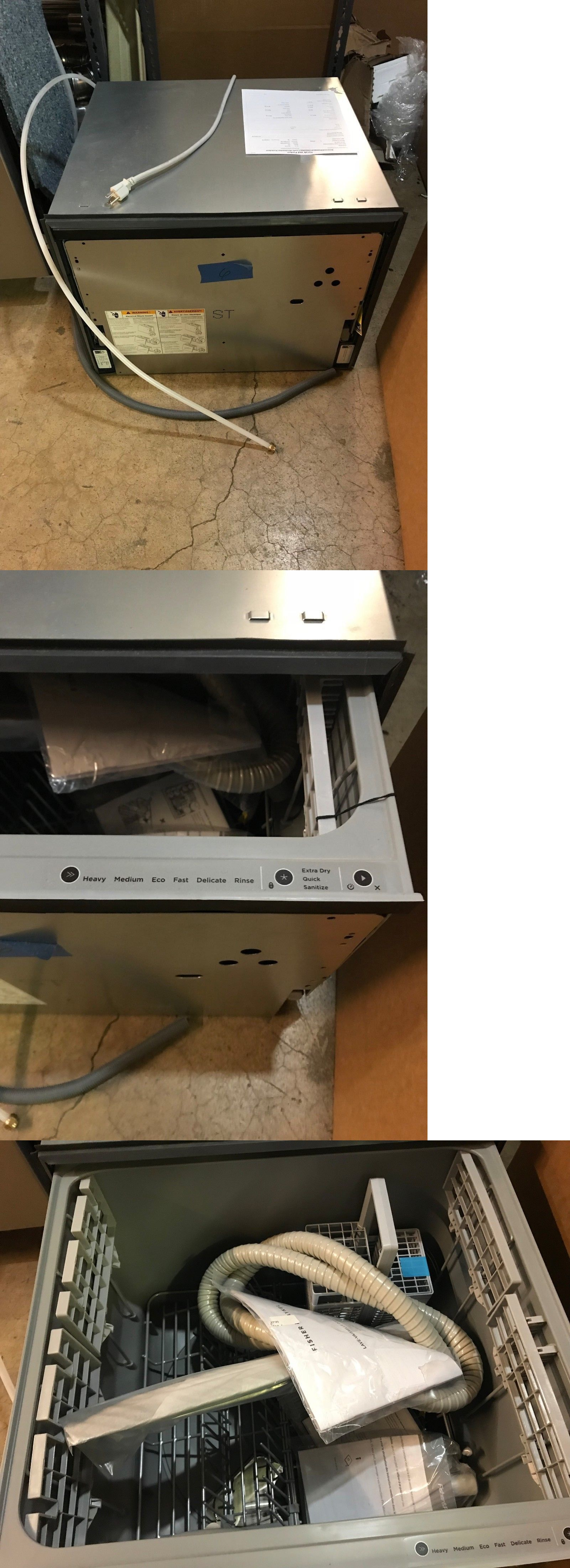 Dishwashers 116023 Fisher And Paykel Dishdrawer Series Dd24sti9n