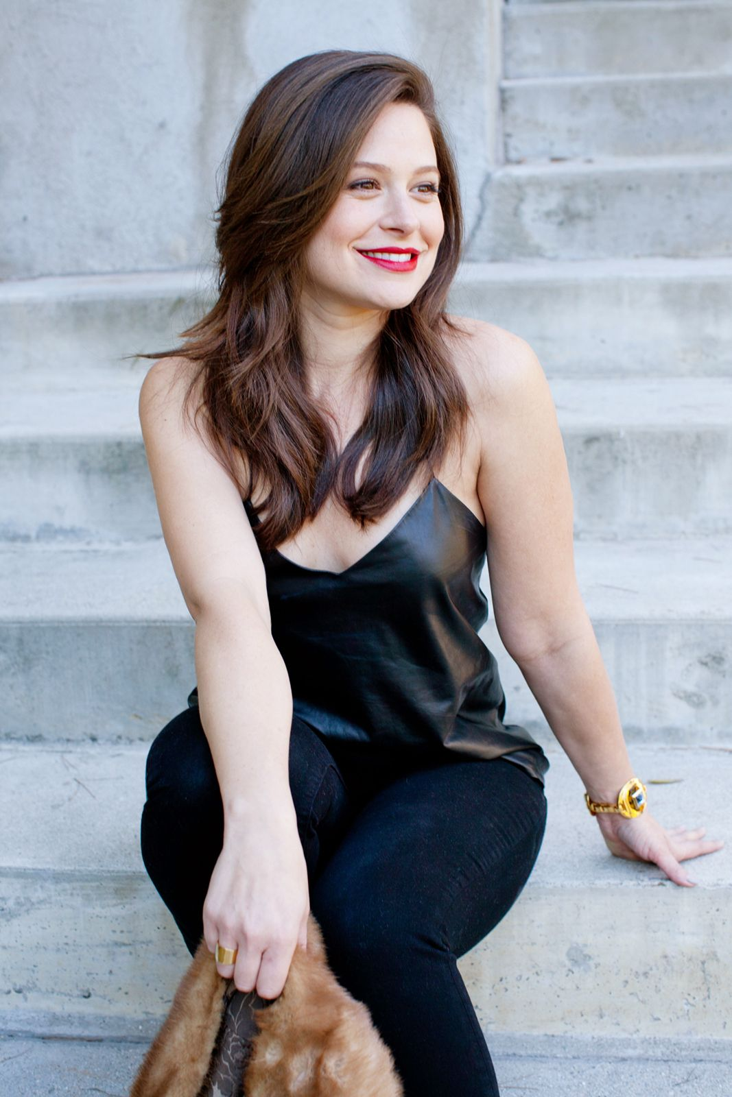 Katie Lowes Talks Scandal And Style Refinery29