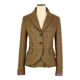 gorgeous tweed blazer