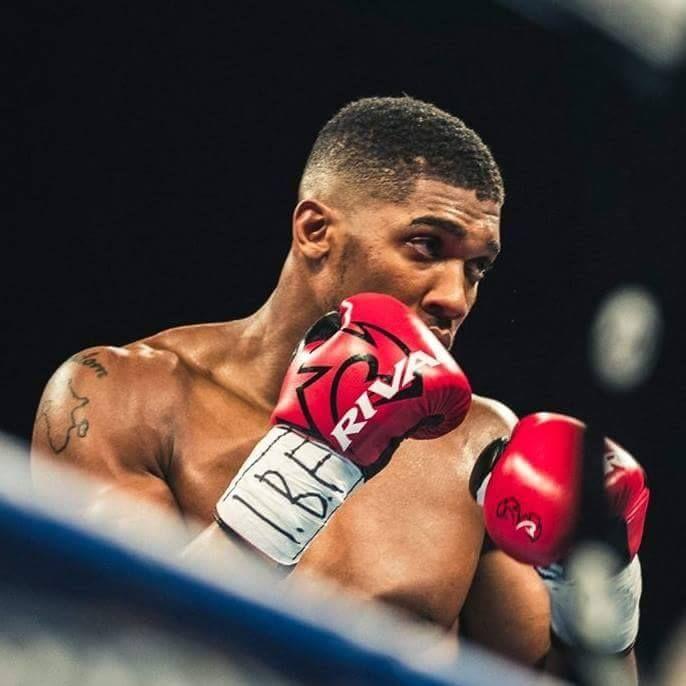 Sponsor Matchroom Boxing Usa: World Boxing Champion Anthony Joshua Signs 3 Year