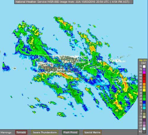 #Matthew provoca advertencia de inundaciones en Puerto Rico:...