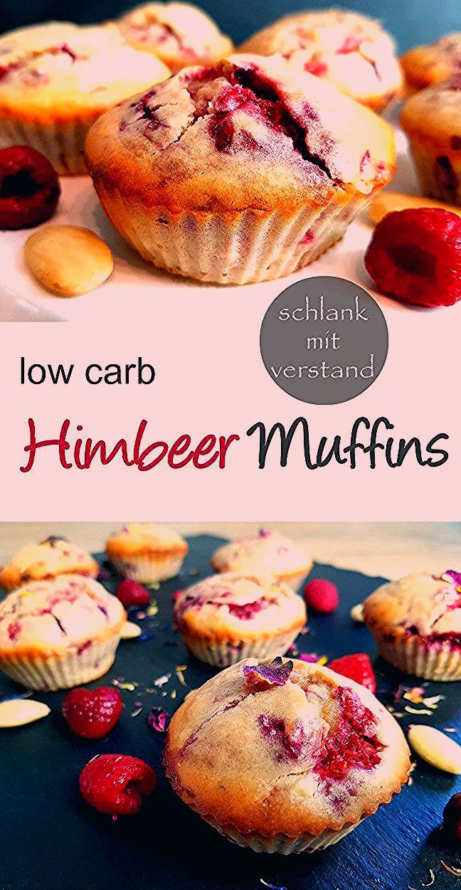 Photo of low carb Himbeermuffins backen