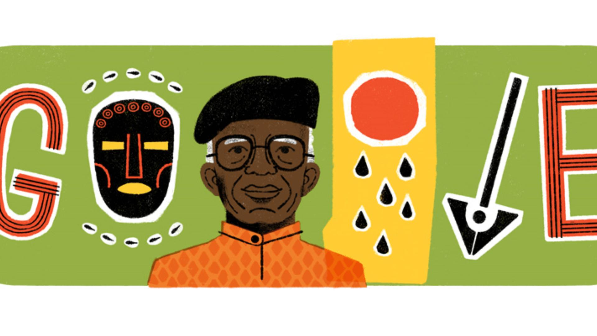 Chinua Achebe Google doodle celebrates Nigerian writer