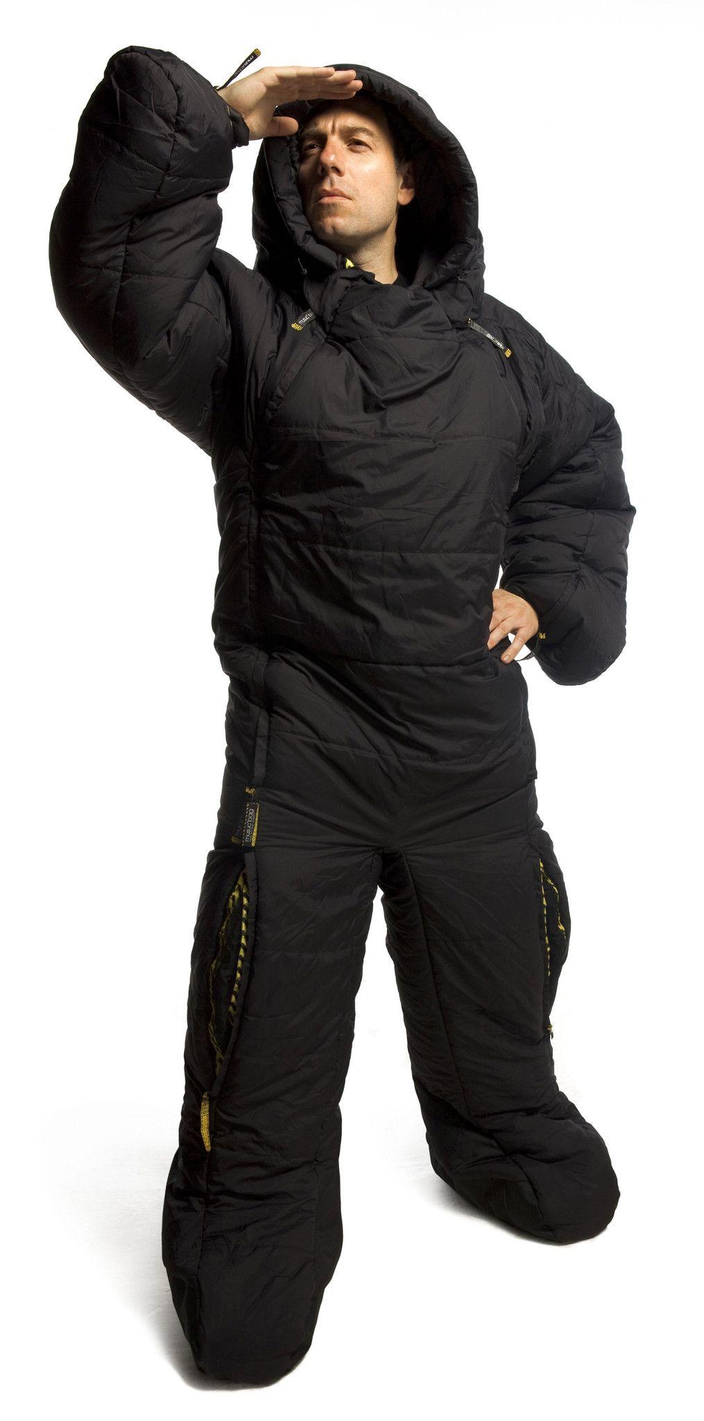 Selk Bag Sleeping Suit Original Black F Riders Inc