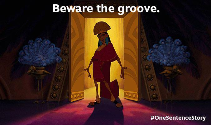 One sentence stories part two disney dessin anim et anim - Kuzco dessin anime ...