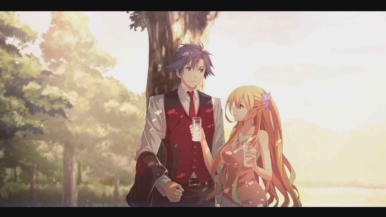 Rean X Alisa Cold Steel 4 Character Art Trails Of Cold Steel The Legend Of Heroes