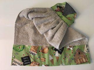 Profumi di ... vite...: Modalità cucito ..on.. ago, filo e stoffe per delle salviette sfiziose da regalare a Natale