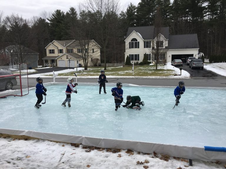 Backyard Rink | JanielinSmith | Backyard, Backyard ice ...