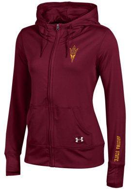 4f5e2361 Under Armour Arizona State University Sun Devils Women's Full-Zip ...