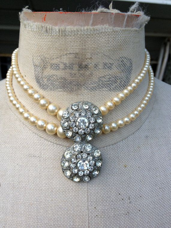 Heirloom Art Deco 1920s Vintage one of a kind by funkyjunkmama, $64.00