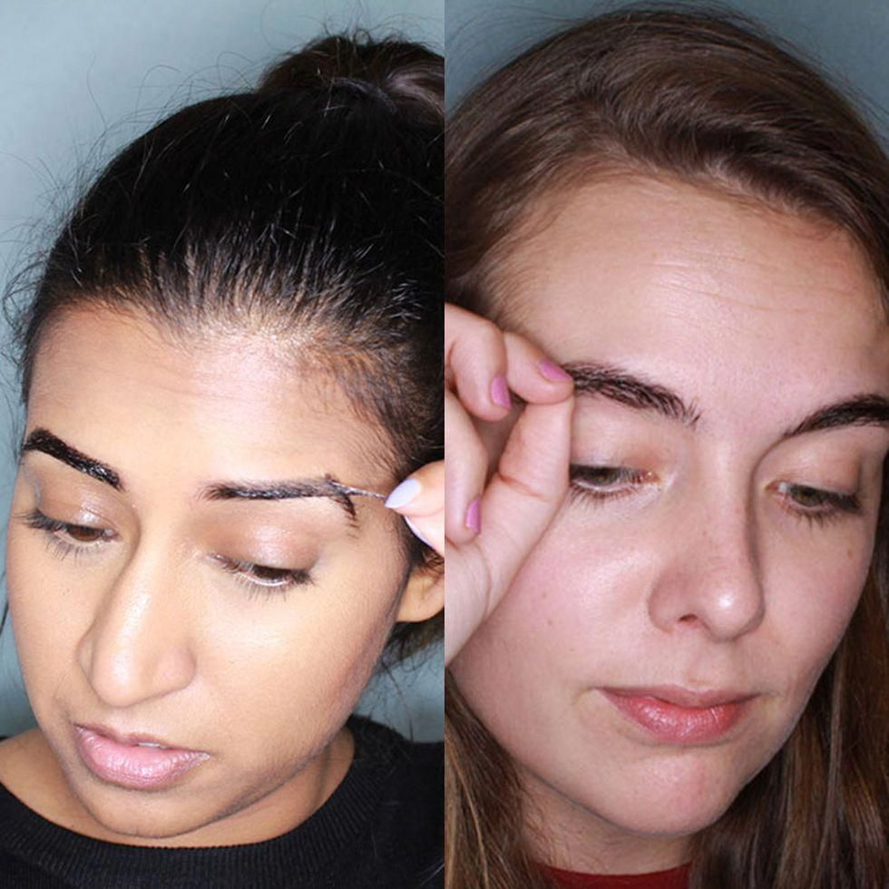 Pin by Reed Ariana on eyebrows like celebs (With images
