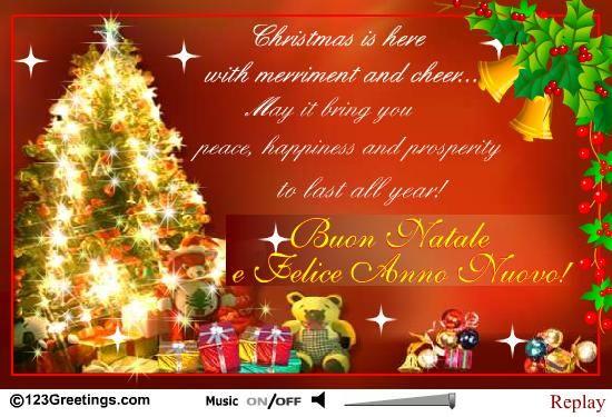 Christmas cheer from around the world italian and spanish christmas around the world italian cards free christmas around the world italian wishes 123 greetings m4hsunfo