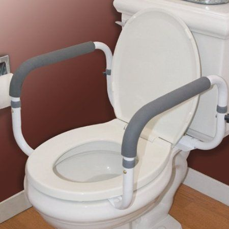 Amazon.com: Carex Health Brands Toilet Support Rail: Health & Personal Care