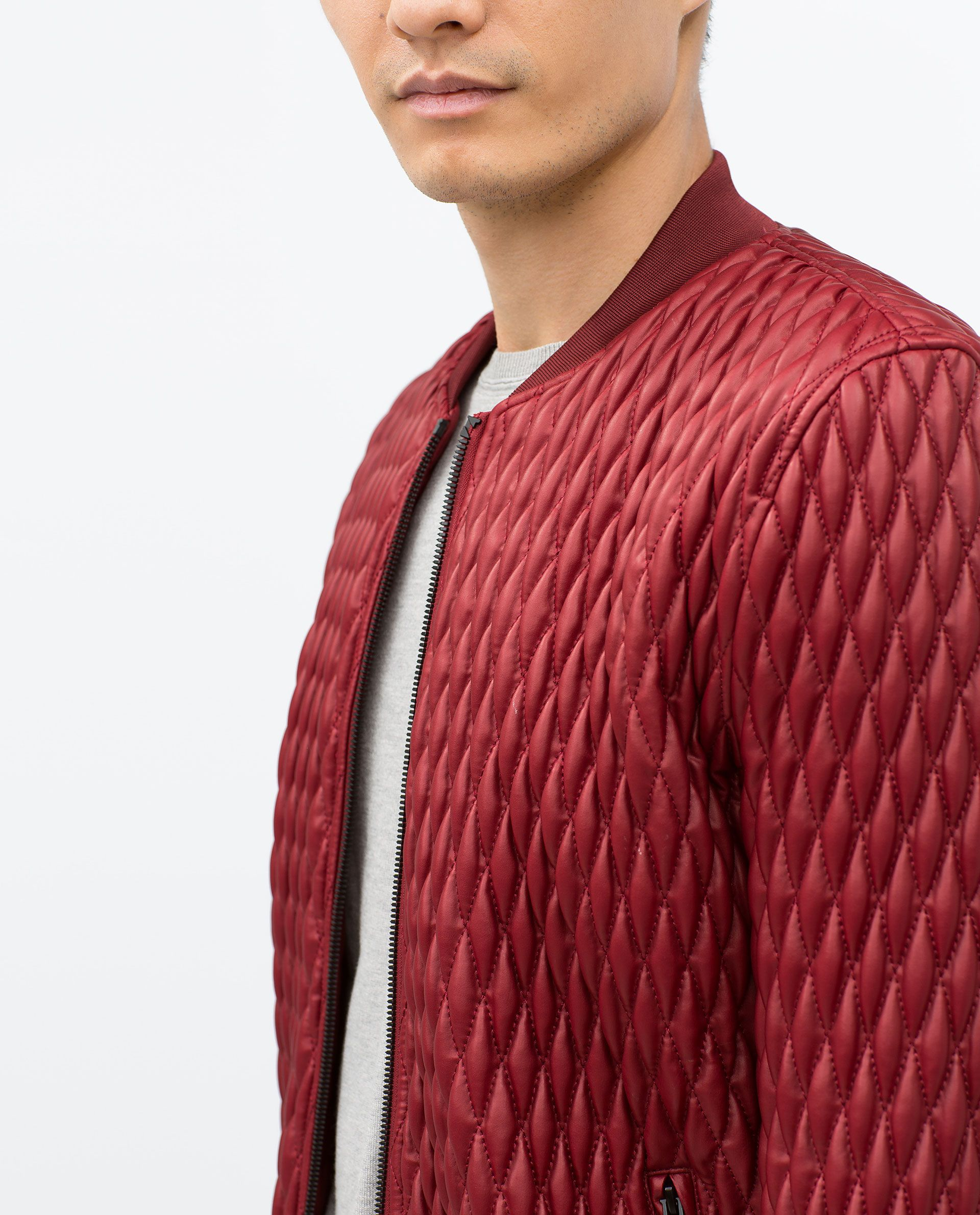 QUILTED JACKET View all Jackets MAN ZARA Canada
