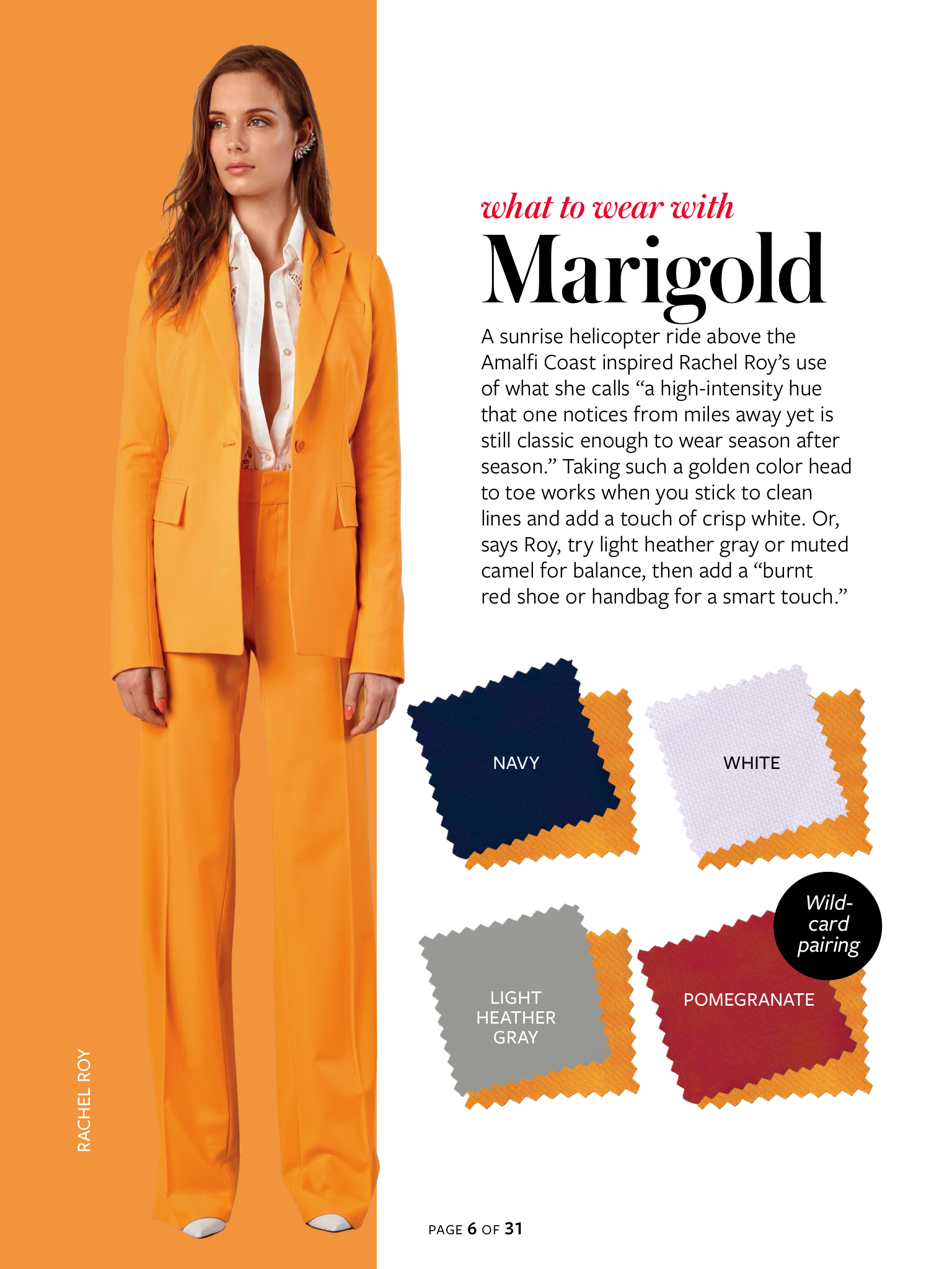 Instyle Color Crash Course  Marigold