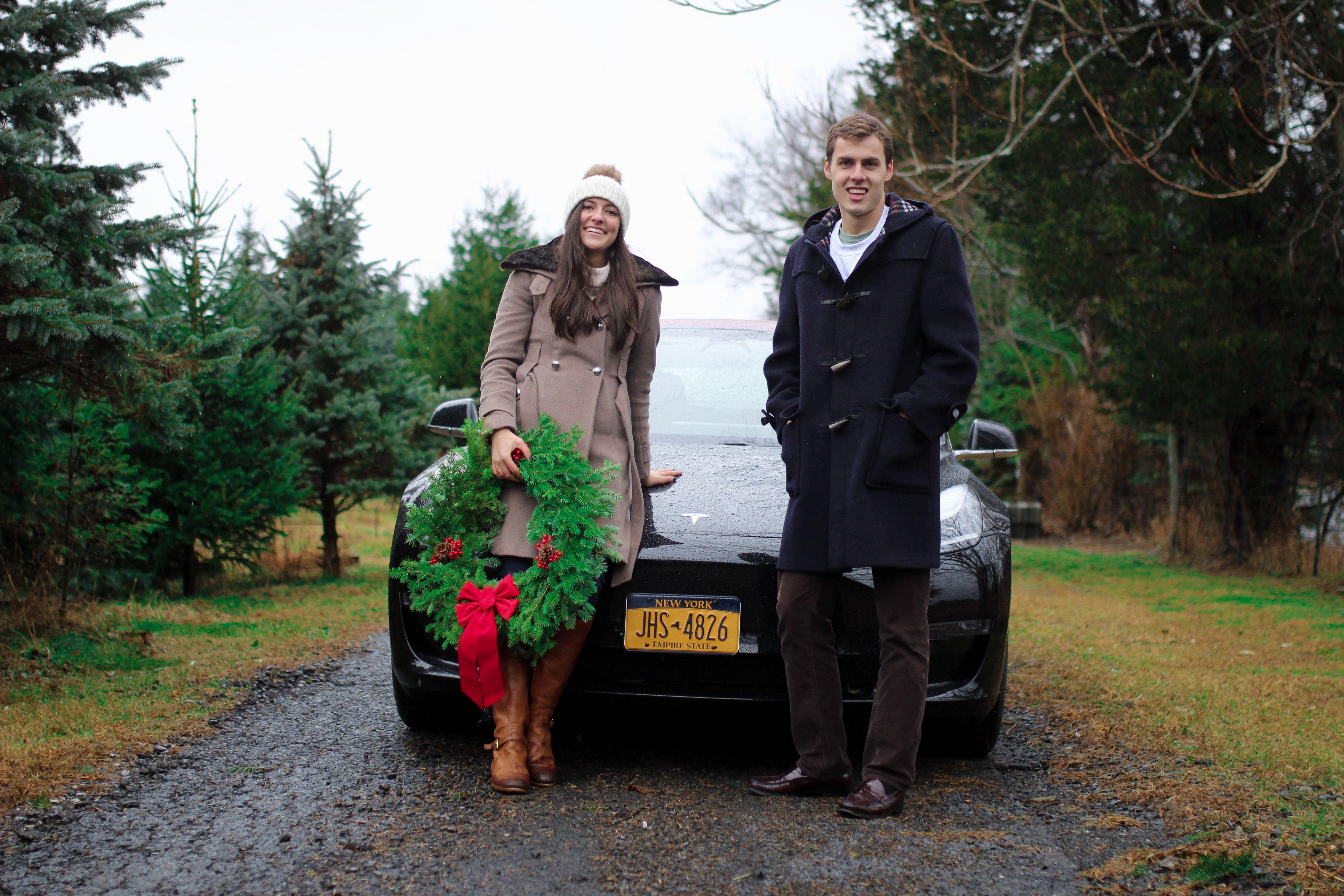 Fox Ridge Christmas Tree Farm - Take 6 #christmastreefarm #christmastree #visitnewyork #visitnyc #christmastime #nyctravel #winterwonderland #winterlove #christmasinnyc #nyclifestyle #nycbloggers #newyorkcouple #upperwestside #nycchristmas #holidayseason #tistheseason #nycbloggers #upperwestsiders #nyclove #freedomthinkers #countryroads #christmaslove #tesla #teslamotors