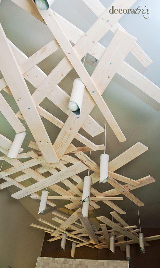 Resultado de imagen de decoracion rustica techos tiendas - Decoracion de techos ...