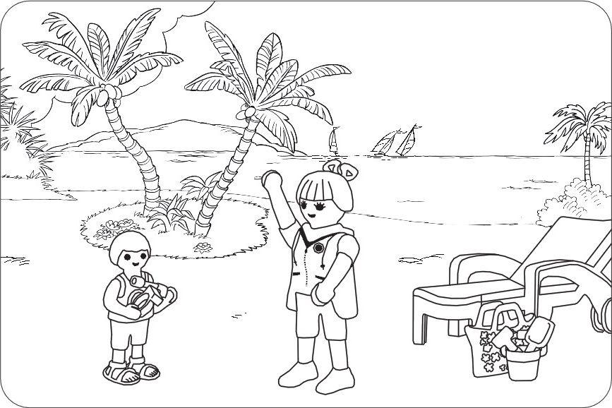 malvorlagen playmobil piraten | coloring and malvorlagan