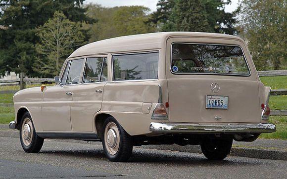 1964 Mercedes Benz Fintail Wagon Mercedes-Benz W 110 Universal - omas küche binz