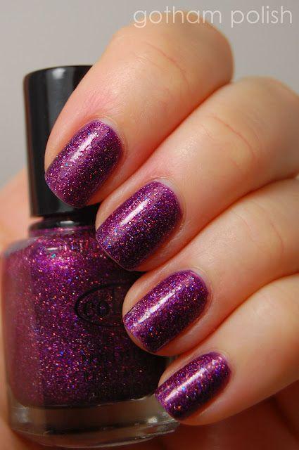 "Color Club ""Too Violet"""
