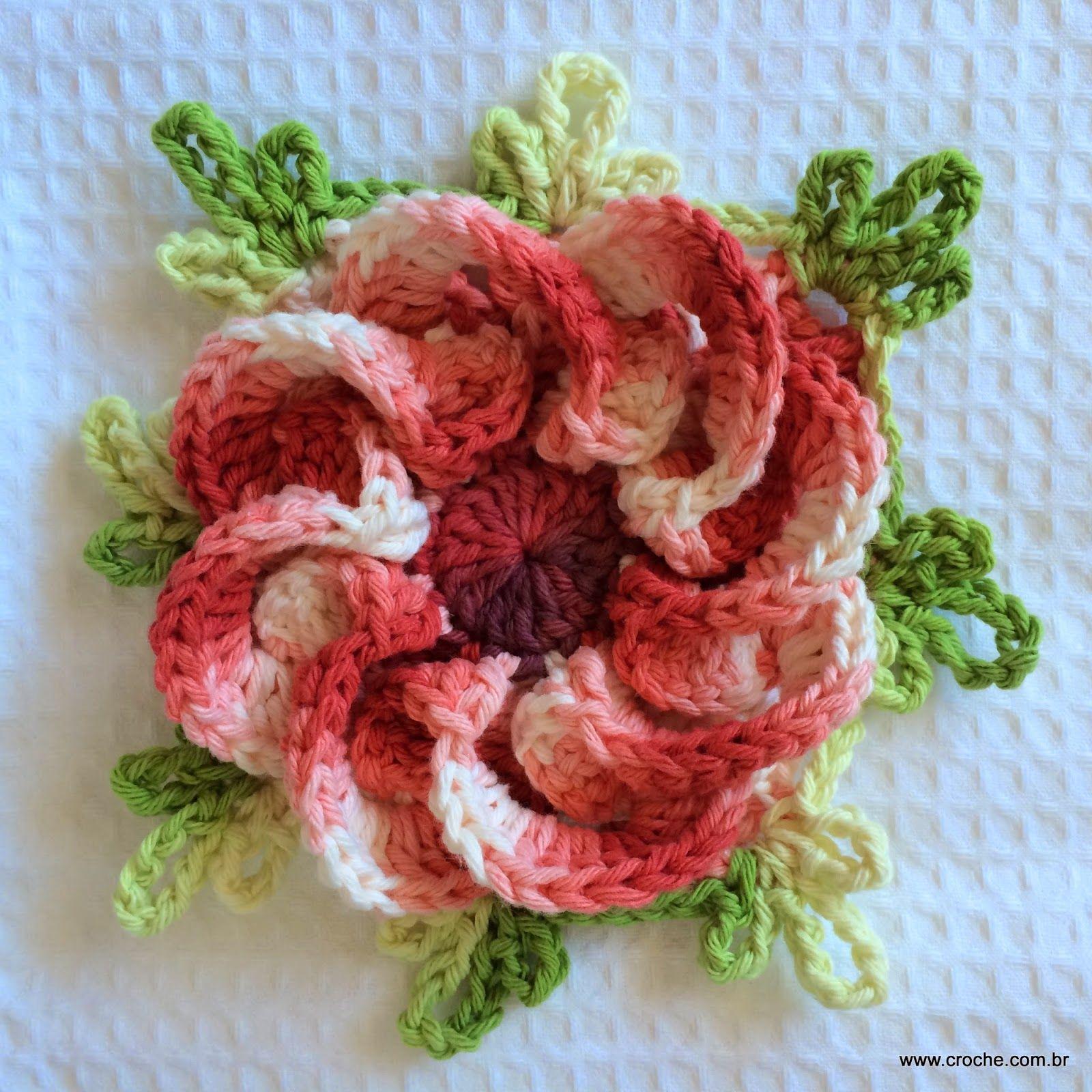 Flor segredo passo a passo | Flores, Flor y Bordado