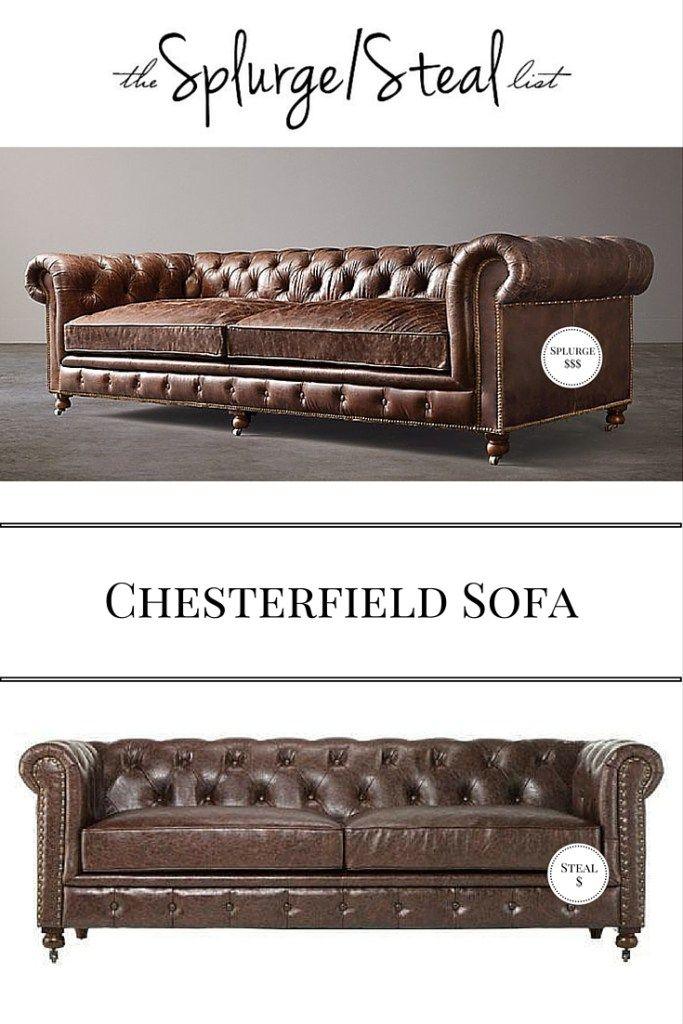 Restoration Hardware Kensington Chesterfield Sofa Cheaper