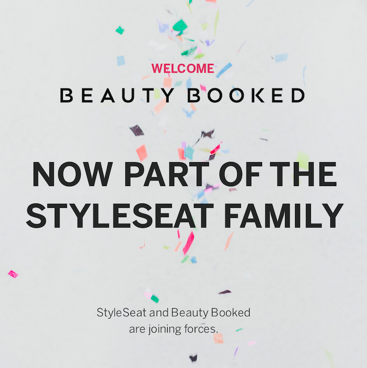 StyleSeat Acquires BeautyBooked Styleseat, Beauty book