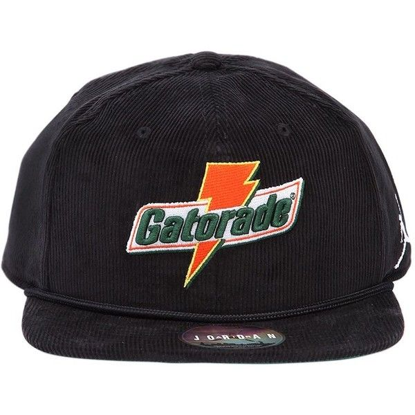 cace802ad06fb4 Nike Women Jordan X Gatorade Pro Like Mike Hat ( 50) ❤ liked on Polyvore  featuring accessories