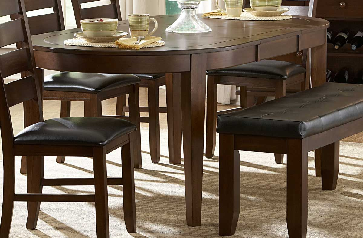 Homelegance Ameillia Oval Dining Table Dining Room Sets Dining