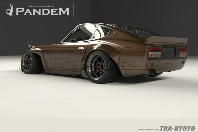 Rocket Bunny Datsun 240Z S30 Full Pandem 240Z Wide Body Aero Kit