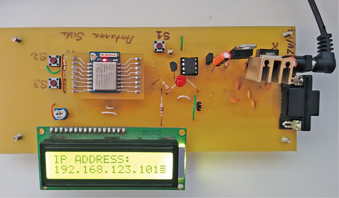 ESP8266 Based Wireless Web Server | Arduino, Arduino projects and ...