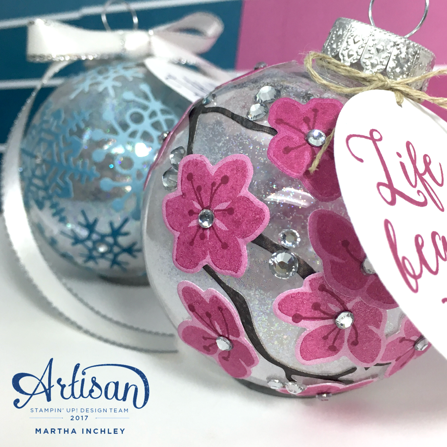 Decorate your tree or everyday life with ornaments created with the