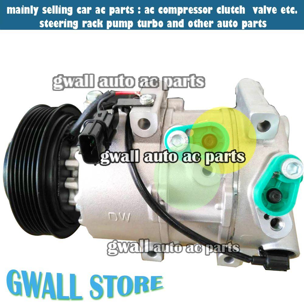 DVE16 car auto air conditioning compressor for car hyundai