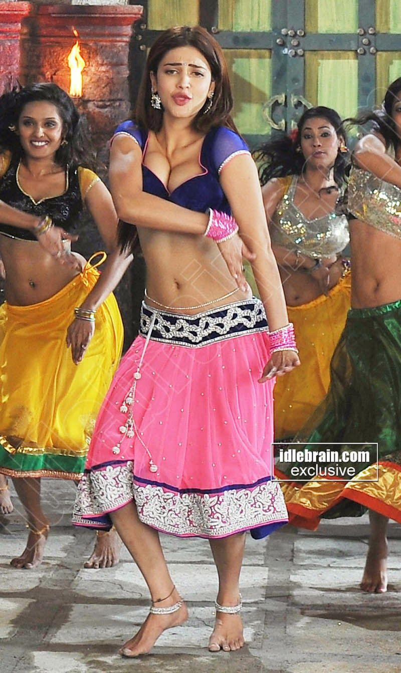 shruthi hassan hot cleavage navel show photos | avi | Pinterest ...