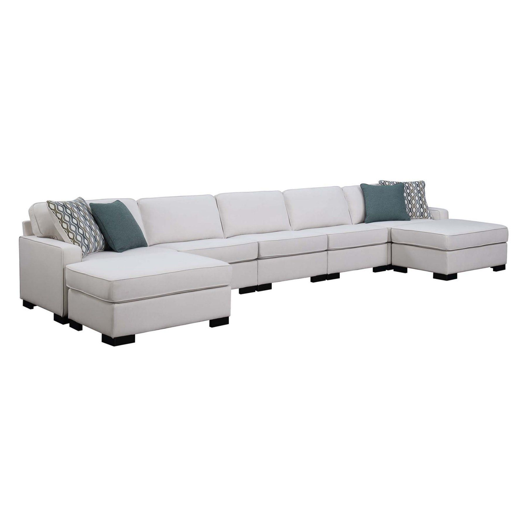 Best Scott Living Wylder 7 Piece Sectional Sofa Coa4128 400 x 300