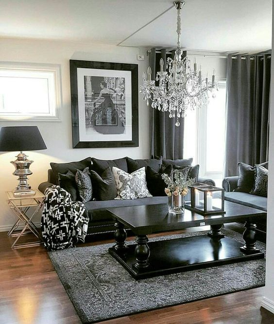 pin von chrissy kasper auf living room pinterest wohnzimmer wohnzimmer ideen und schlafzimmer. Black Bedroom Furniture Sets. Home Design Ideas