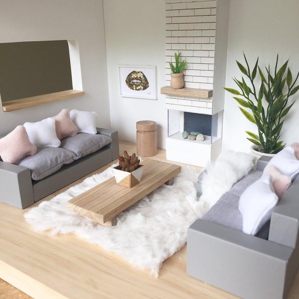 Dollhouse Miniature Roombox Sitting Room: Pin By Karan Justus On Miniatures