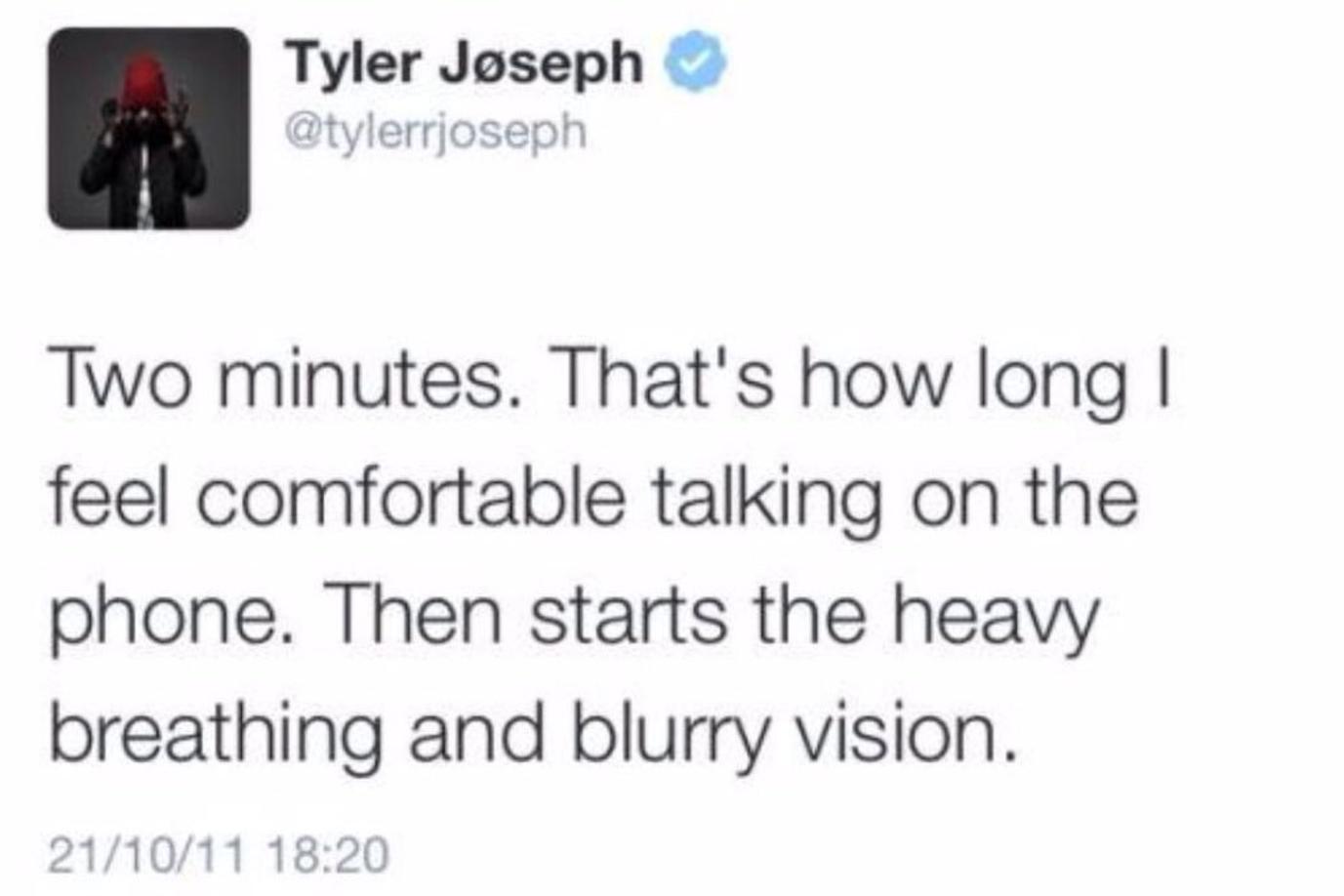 Tyler Joseph Twitter