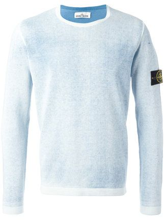 Stone Island Pullover Mit Logo Patch 239 Pullover Herrin Tops
