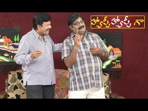 Happy Happy Ga Costly Hair Cutting Telugu Comedy Skits
